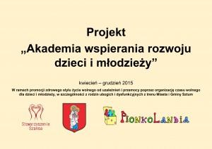 Projekt Akademia 2015